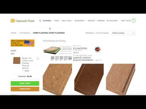 How To Order Cork Flooring Samples Canada Cancork