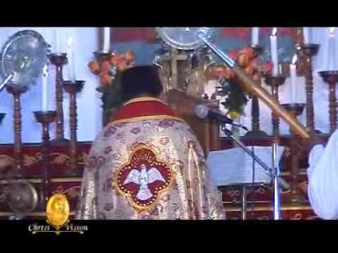 Holy Qurbana St.Mary's Malankara Orthodox Church Parumala