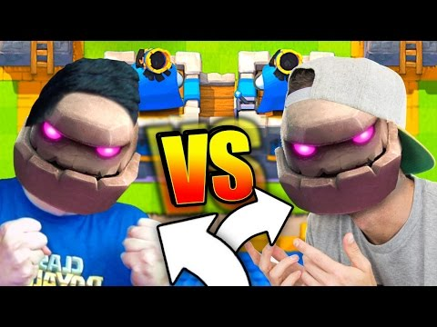 NICK vs MOLT 2v2 CLAN BATTLE Clash Royale