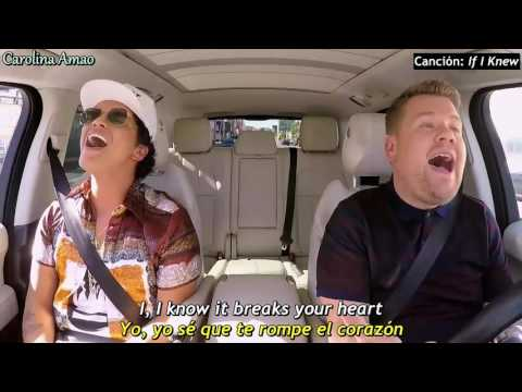 Bruno Mars Carpool Karaoke [Sub Español] - Parte...