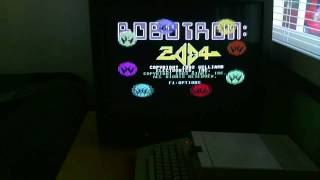 Robotron 2084 on a Commodore 64
