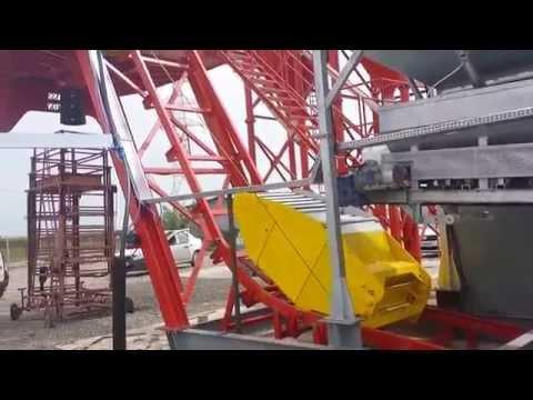 Semi-mobile Concrete Station, Concrete Plant, Batching Plant, PROSOFT Industry