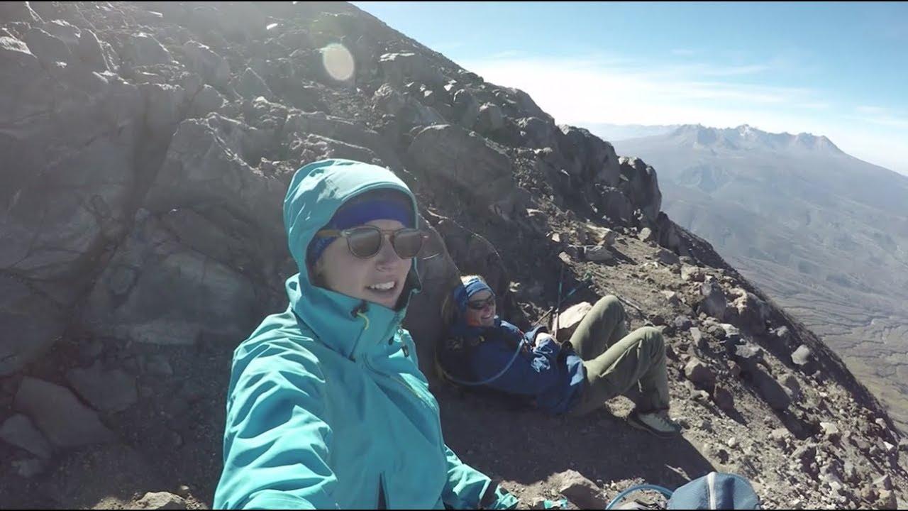 Climbing A 5825m High Active Volcano     Cold House Media Vlog 051