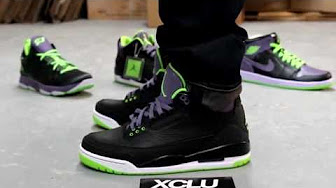 38727bb61d5b joker 3s on feet - YouTube