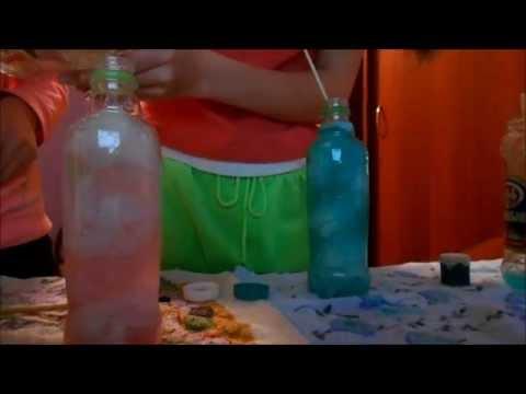 развлек гимнастика бутылка видео
