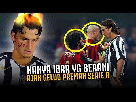 HANYA IBRA YG BERANI !! Inilah Hari Dimana Ibrahimovic Ajak Gelud Preman Preman Italia