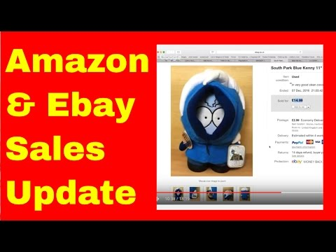 Ebay & Amazon Sales Round-up - How To Make Money On EBay - Toys/Nerf/Media