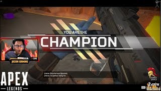 """""""APEX LEGENDS FIRST WIN"""" New Battle Royale Game (Apex Legends)"""