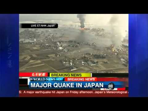 Japan Tsunami 9.0 Earthquake Damage, Footage, News Coverage March 11, 2011
