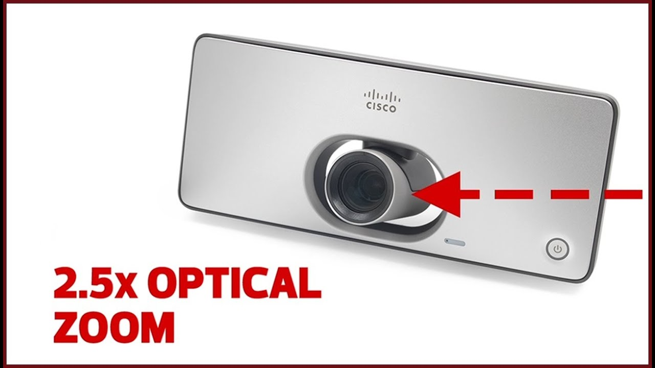 Hands on with Cisco's TelePresence SX10 Video Conferencing