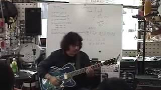 高内HARU春彦ジャズセミナー・ギタークリニック3 高内春彦 検索動画 3