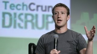 Zuckerberg at TechCrunch Disrupt on Facebook