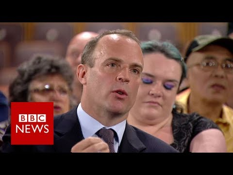 Typical food bank user 'has cash flow problem' says Conservative MP Dominic Raab - BBC News