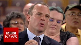 Typical food bank user 'has cash flow problem' says Conservative MP Dominic Raab   BBC News