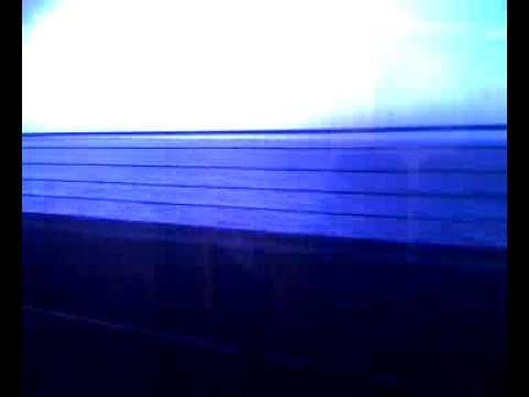 Crossing Øresundsbron to Malmö, Sweden