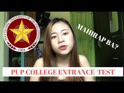 PUPCET PUP College Entrance Test Mahirap Ba Zeah
