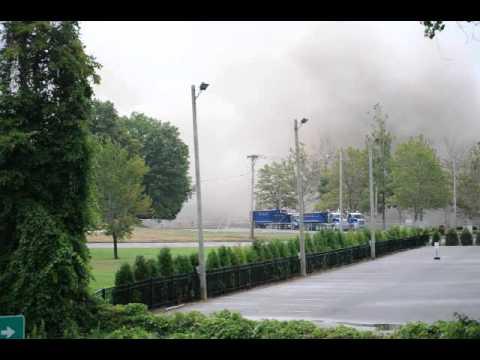 Implosion Of Building Southfield North Park Plaza Decem