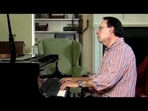 J.S. Bach, Italian Concerto Mvmnt 2, Anthony Newman, Piano