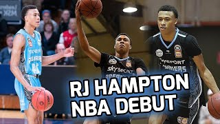 RJ Hampton Drops His First NBA BUCKET! Goes Head To Head With Ja Morant In EPIC Showdown! 🤩