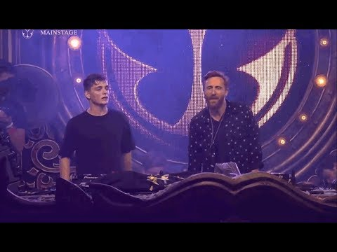 Martin Garrix & David Guetta Feat  Ellie Goulding - ID (Live at Tomorrowland Belgium 2017)