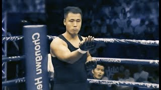 WingChun Man (172Lbs) Tests Little MMA Fighter (146Lbs)