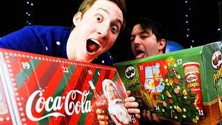 Coca Cola & Pringles Adventskalender 2018 getestet