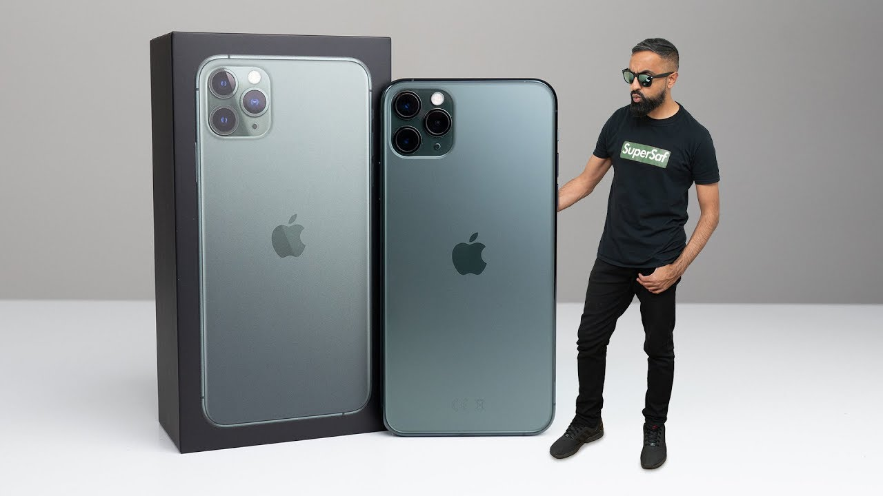 Iphone 11 Pro Max Unboxing Midnight Green Youtube