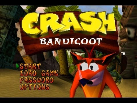 Crash Bandicoot - Complete 100% Walkthrough - All Gems, All Boxes, All Bonus Stages