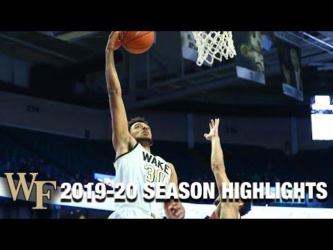 Olivier Sarr 2019-20 Season Highlights   Wake Forest Center