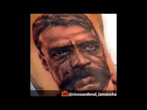 Emiliano zapata tattoo by rico sandoval call for Emiliano zapata tattoo
