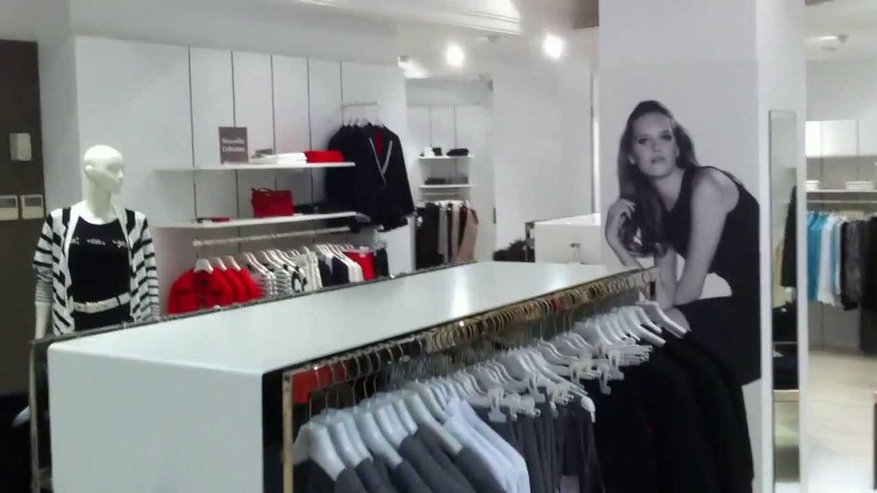 Reformas de locales comerciales en girona tienda de ropa for Decoracion de interiores locales de ropa