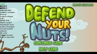 Defend Your Nuts Full Gameplay Walkthrough