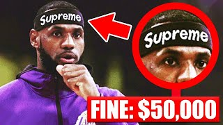 Download 7 Accessories BANNED In The NBA This Season - LeBron James | Kyrie Irving | Kobe Bryant Mp3 and Videos