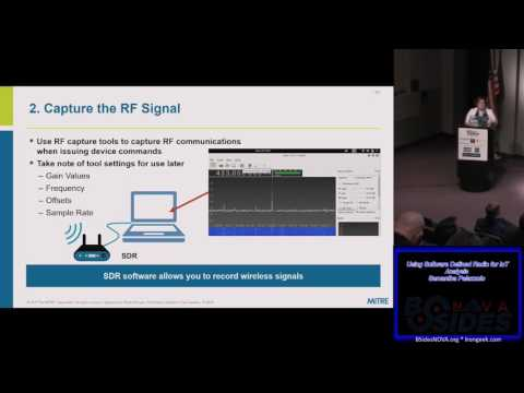 102 Using Software Defined Radio for IoT Analysis Samantha Palazzolo