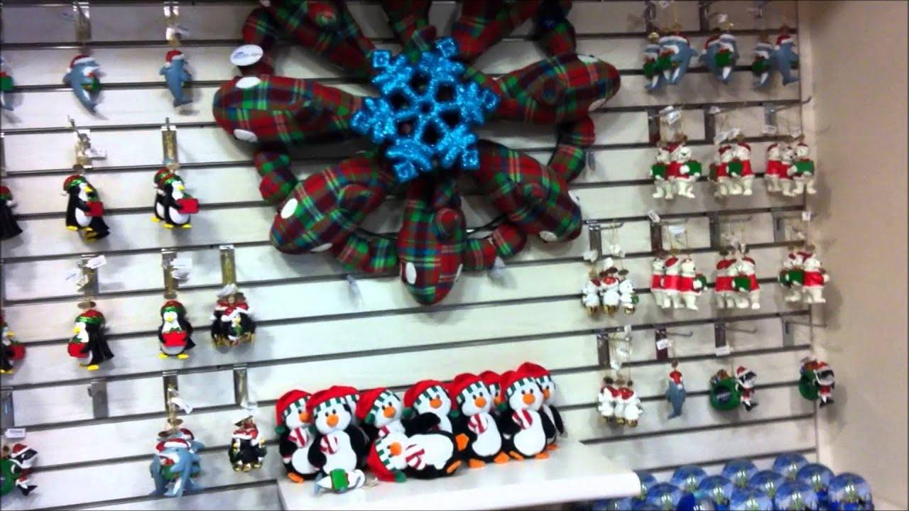 SeaWorld Orlando Gift Shop during Christmas Holiday - YouTube