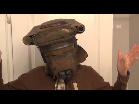 How To Part 1 Make Princess Leia Bounty Boushh Hunter Helmet Diy Starwars Costume Youtube