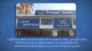 Groupe Sante Laboratoires présentation