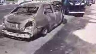 Horrific accident on Abu Dhabi - Dubai road, near Ghantoot