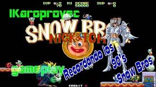 Snow Bros - Gameplay - 90's - Arcade