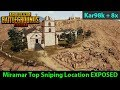 My Favorite Miramar SNIPING Location EXPOSED | Time for CHURCH!! | PUBG Mobile 0.5.0