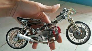 Miniatur motor drag jaman now