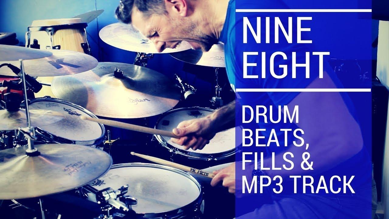 Simple Nine Eight Drum Beat | Total Drummer - Online Drum Lessons