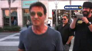 Sylvester Stallone loves spending time with Paparazzi