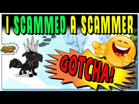I SCAMMED A SCAMMER! WHERE IS THE SPIKE? ANIMAL JAM