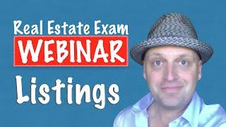 Real Estate Exam Webinar - Listings