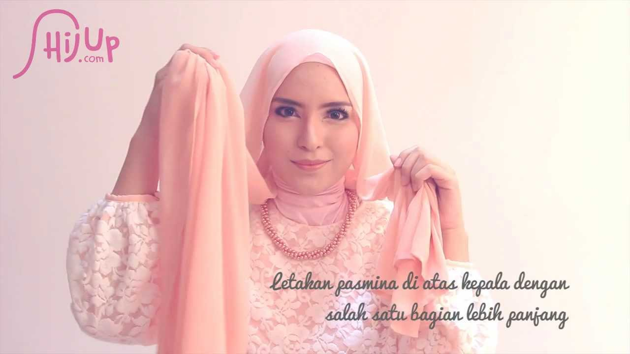 Hijab Tutorial 62 Enchanting Beauty By Zahratul Jannah YouTube
