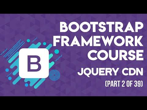 Bootstrap Framework in Urdu/Hindi Part 2 jQuery CDN