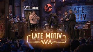 "LATE MOTIV - Raúl Cimas. ""Exorcismo, Rock rock 'n' roll y una polla"" | #LateMotiv412"
