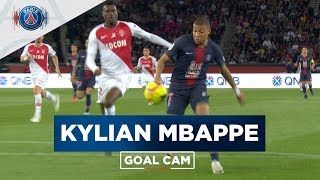 GOAL CAM | Every Angles | Kylian MBAPPE vs Monaco