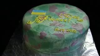 торт камуфляж | торт на заказ